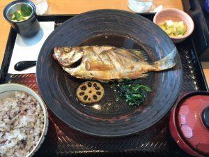 大戸屋「メバルの煮魚定食」